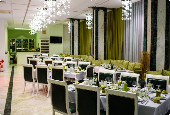 Helga Pleven Restaurant Interior
